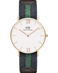Daniel Wellington Grace Warwick Watch multicolor - Lyst
