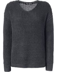 Iris Von Arnim Sweater Nici gray - Lyst
