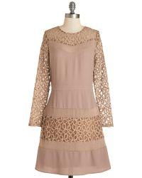 Esley Coffee Shop Reviewer Dress - Lyst