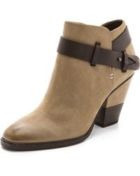 Dolce Vita Haelyn Booties - Taupe - Lyst