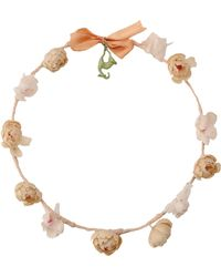 Carven Hair Accessory pink - Lyst
