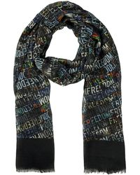 Moschino Cashmere and Silk Scarf - Lyst