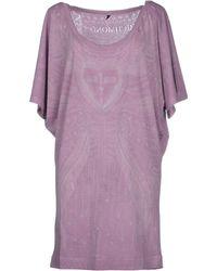 Richmond Denim Short Dress - Lyst