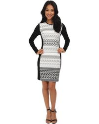 Shoshanna Black Yeri Dress - Lyst