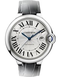 Cartier Ballon Bleu De Stainless Steel Watch - For Men - Lyst