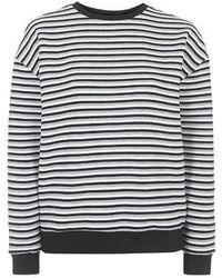Topshop Triple Stripe Sweat By Boutique multicolor - Lyst