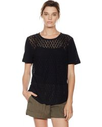 Equipment Riley Tee - Lyst