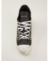 Gienchi Studded Hitop Sneakers - Lyst