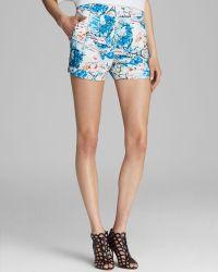 Catherine Malandrino - Shorts Printed Cuffed - Lyst