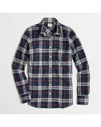 J.Crew Factory Classic Buttondown Shirt in Plaid - Lyst