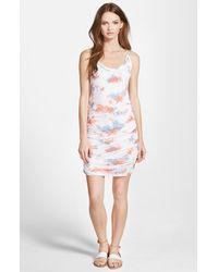 Splendid Cloud Tie Dye Dress - Lyst
