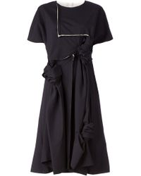 Junya Watanabe Deconstructed Knotted Dress - Lyst