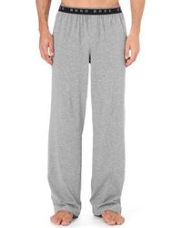 Hugo Boss Stretch-Cotton Pyjama Trousers - For Men - Lyst