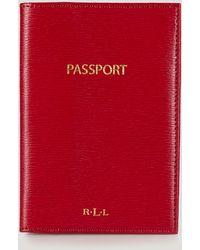 Ralph Lauren Lauren Passport Case  - Lyst