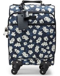 Gucci Floral-Print Wheeled Carry-On Bag - Lyst
