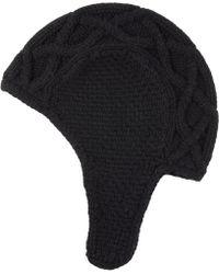 Barneys New York Il Borgo Wool Ear Flap Hat - Lyst