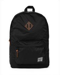 Herschel Supply Co. Heritage Backpack In Nylon - Black - Lyst