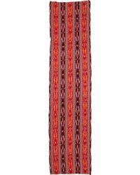 Madewell - Flameweave Ikat Scarf - Orange - Lyst