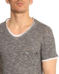 Eleven Paris Batrak Grey Cotton-Jersey T-Shirt - Lyst