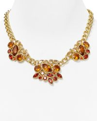 """T Tahari - Navette Cluster Necklace, 15"""" - Lyst"""