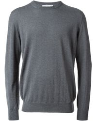 Ferragamo Crew Neck Sweater - Lyst