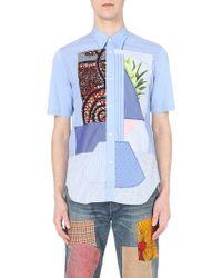 Junya Watanabe | Patchwork Regular-fit Cotton Shirt | Lyst