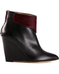 Eugene Riconneaus Aubergine Mary Boots - Lyst