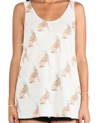 All Things Fabulous - Coyote Tank - Lyst