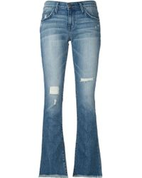 Current/Elliott Bootcut Denim Jeans - Lyst