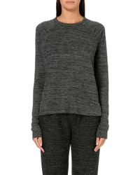 Rag & Bone Camden Marl Top Grey - Lyst
