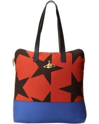Vivienne Westwood Ethical Africa Star Tote Bag - Lyst