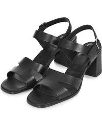 Topshop Natalie '90S Mid-Heel Sandals - Lyst
