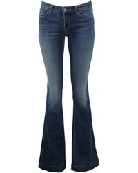 J Brand Another Love Story Flare Jean blue - Lyst