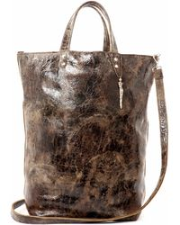 Lucque - Orleans Tote Tortoise Finish - Lyst