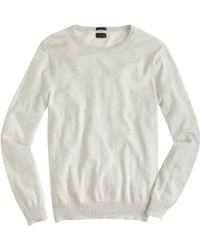 J.Crew Slim Cotton-Cashmere Crewneck Sweater - Lyst