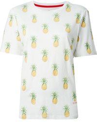 Tory Burch Pineapple Print T-Shirt - Lyst