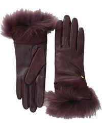 Ugg Quinn Glove with Toscana Trim - Lyst