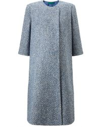 Emilia Wickstead Exclusive | Boucle Coat - Lyst
