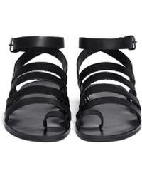 Pierre Hardy | Multi-strap Leather Sandals | Lyst