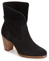Ugg 'Thames' Foldover Cuff Boot black - Lyst