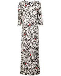 Sonia By Sonia Rykiel Heart Long Dress - Lyst