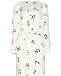 See By Chloé Printed Crepe Dress - Lyst