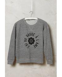 Alexa Chung For AG New Wave Sweatshirt - Lyst