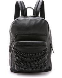 Ash | Domino Chain Backpack - Black | Lyst