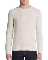 Vince Wool & Cashmere Crewneck Sweater - Lyst