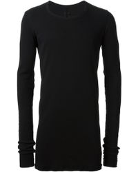 DRKSHDW by Rick Owens Long Sleeve Top - Lyst
