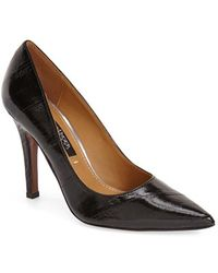 Kay Unger - 'Ainsly' Pointy Toe Pump - Lyst