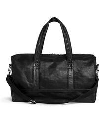 Meilleur Ami Paris - 'belami' Medium Perforated Leather Bowling Bag - Lyst