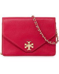 Tory Burch Kira Leather Crossbody Bag - Lyst