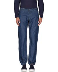 Red 5 - Denim Trousers - Lyst
